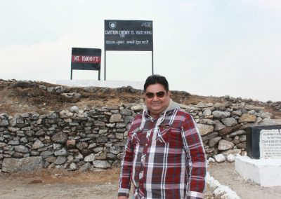 Bumla Pass, Indo China Border